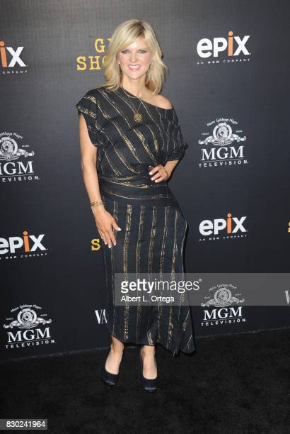 Actress Arden Myrin arrives for the Red Carpet Premiere of EPIX Original Series 'Get Shorty' held at Pacfic Design Center on August 10 2017 in West...