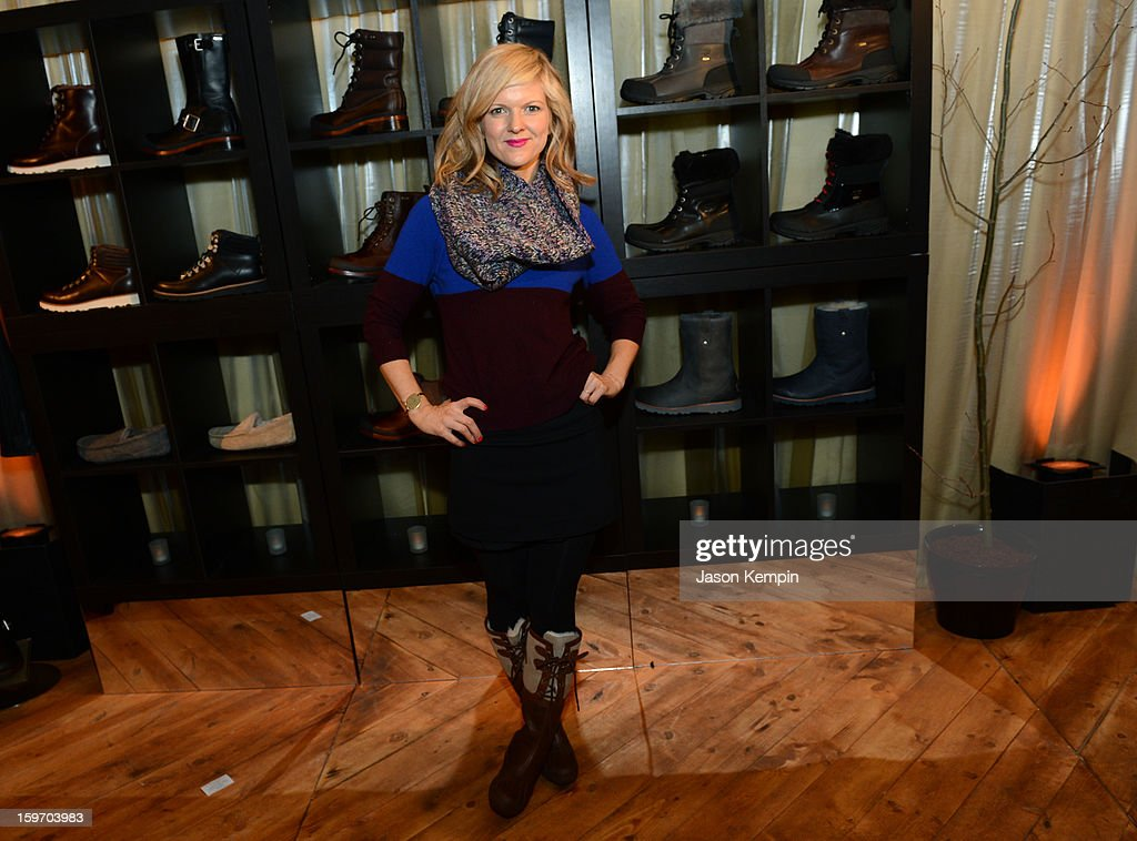 Actress Arden Myrin attends Day 1 of UGG at Village At The Lift 2013 on January 18, 2013 in Park City, Utah.