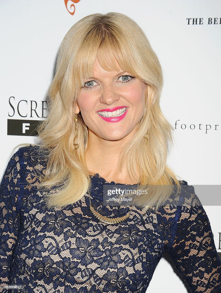 Actress <a gi-track='captionPersonalityLinkClicked' href=/galleries/search?phrase=Arden+Myrin&family=editorial&specificpeople=2194682 ng-click='$event.stopPropagation()'>Arden Myrin</a> attends the 'About Alex' Los Angeles premiere held at the Arclight Theater on August 6, 2014 in Hollywood, California.