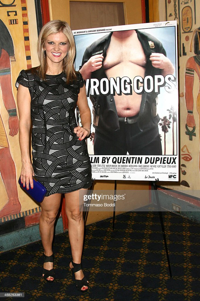 Actress Arden Myrin attends the GenArt Screening Series presents 'Wrong Cops' held at the Vista Theatre on December 11, 2013 in Los Angeles, California.