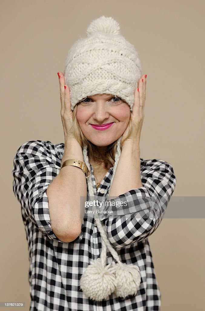 Actress Arden Myrin poses for a portrait during the 2012 Sundance Film Festival at the Getty Images Portrait Studio at TMobile Village at the Lift on...