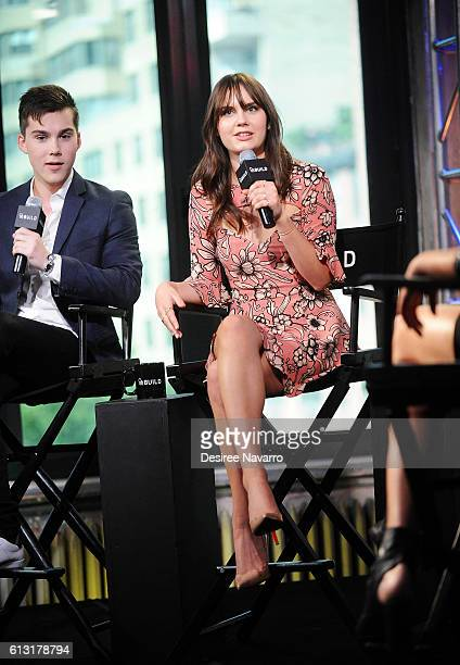 Actress Arden Rose attends The Build Series to discuss 'Mr Student Body President' at AOL HQ on October 7 2016 in New York City