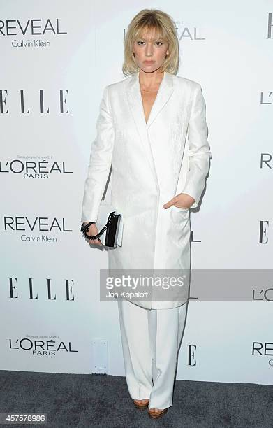 Actress Ari Graynor arrives at the 21st Annual ELLE Women In Hollywood Awards at Four Seasons Hotel Los Angeles at Beverly Hills on October 20 2014...