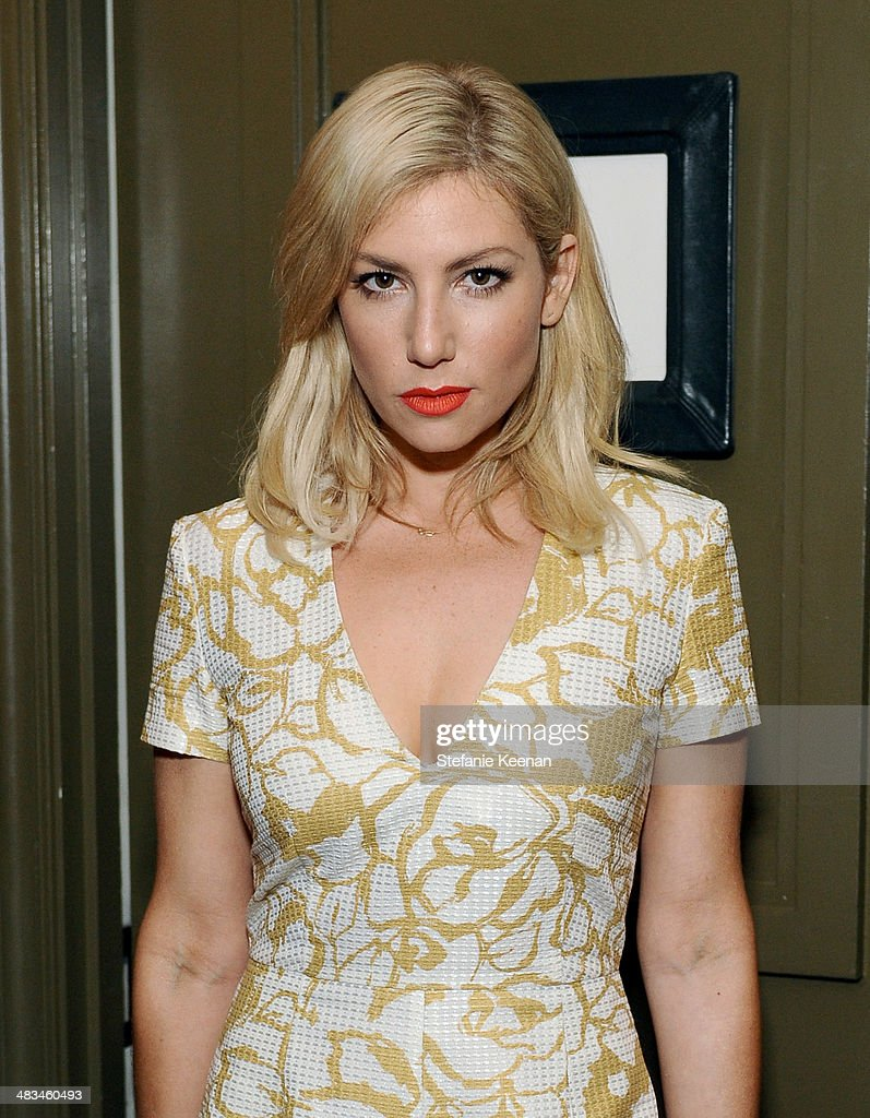 Actress Ari Graynor attends Marie Claire Celebrates May Cover Stars on April 8 2014 in West Hollywood California