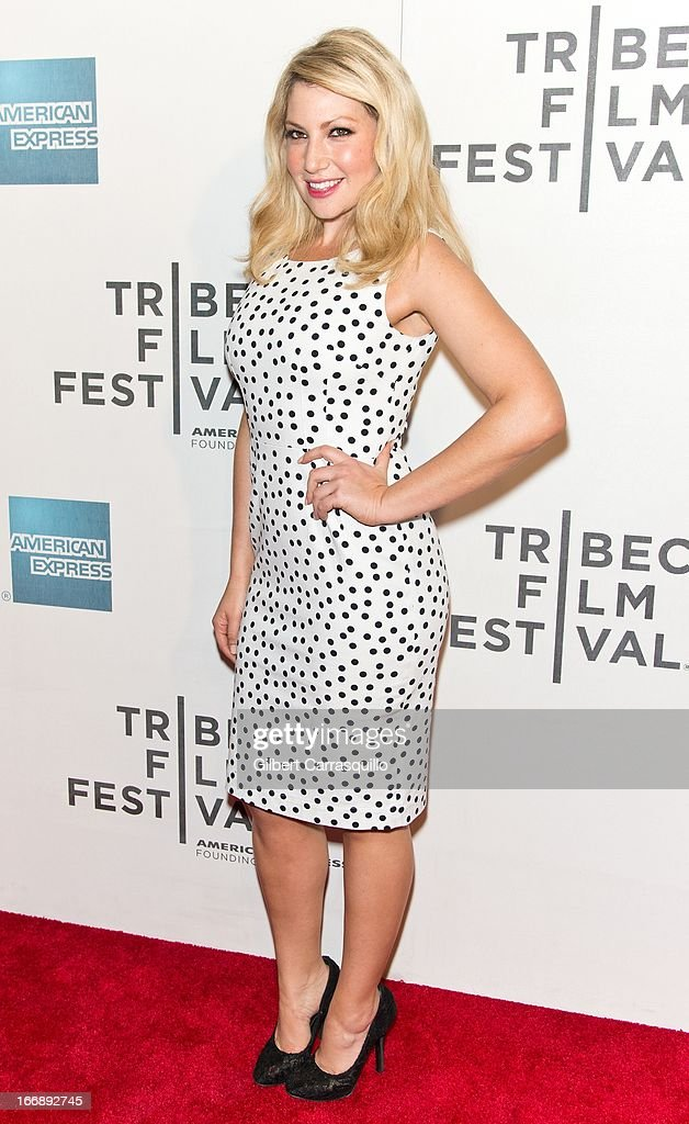 Actress Ari Graynor attends the 'Mistaken for Strangers premiere during the opening night of the 2013 Tribeca Film Festival at BMCC Tribeca PAC on April 17, 2013 in New York City.