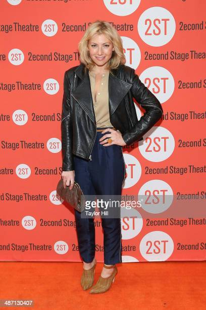 Actress Ari Graynor attends 'The Substance Of Fire' opening night at Second Stage Theatre on April 27 2014 in New York City