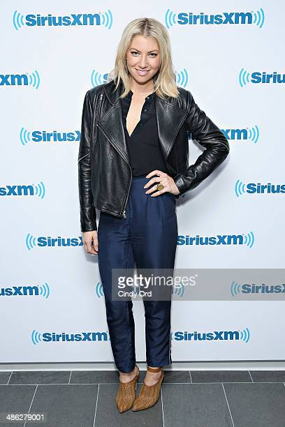 Actress Ari Graynor visits the SiriusXM Studios on April 23 2014 in New York City