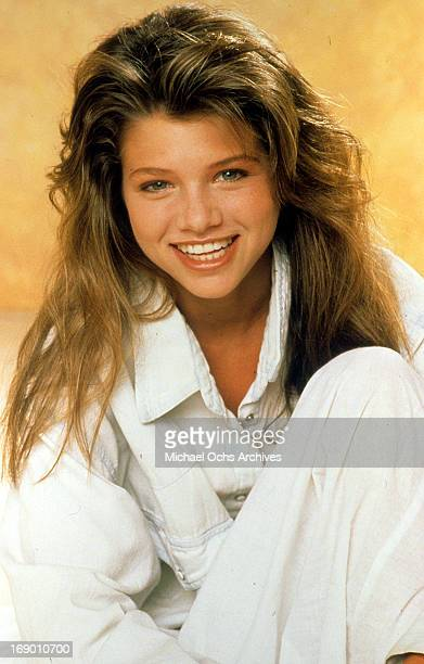 Actress Ari Meyers poses for a portrait in circa 1984