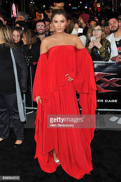 Actress Ariadna Gutierrez attends the Premiere of Paramount Pictures' 'xXx Return of Xander Cage' at TCL Chinese Theatre IMAX on January 19 2017 in...