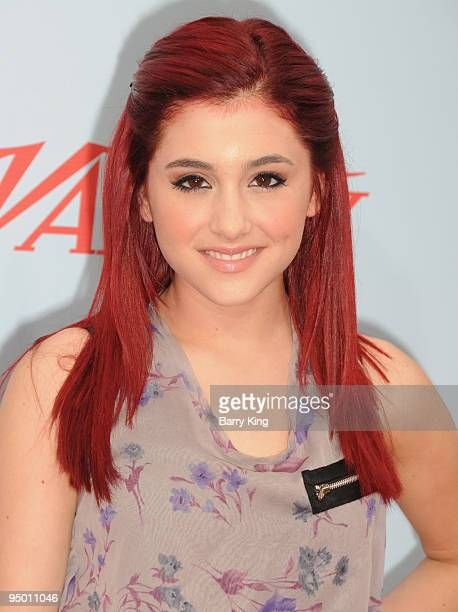 Actress Ariana Grande arrives to Variety's 3rd Annual 'Power of Youth' event held at the Paramount Studios backlot on December 5 2009 in Los Angeles...