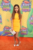 Actress Ariana Grande attends Nickelodeon's 27th Annual Kids' Choice Awards held at USC Galen Center on March 29 2014 in Los Angeles California