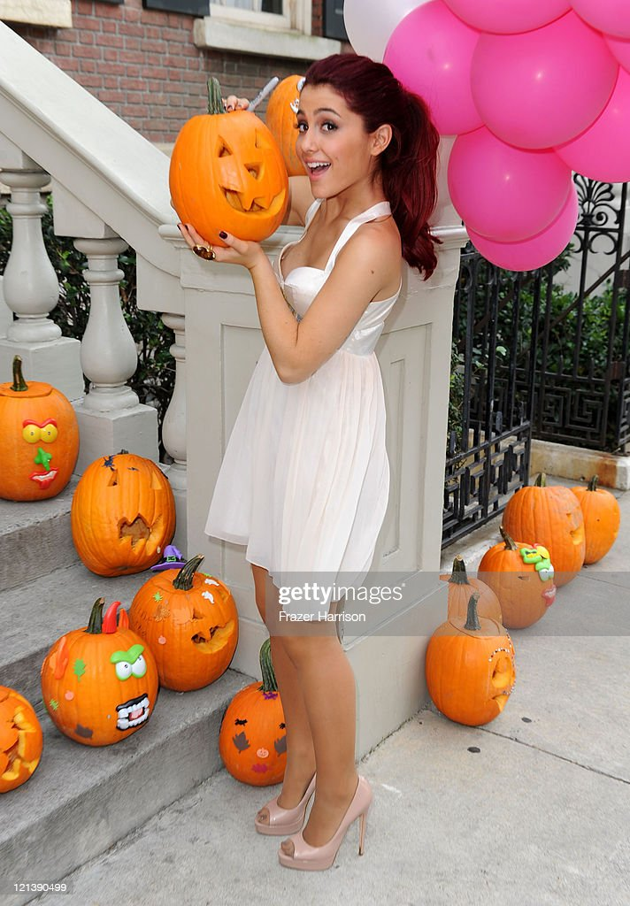 Actress Ariana Grande attends Variety's 4th Annual Power of Youth event at Paramount Studios on October 24 2010 in Hollywood California