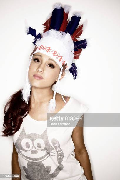 Actress Ariana Grande is photographed for Girl's Life Magazine on June 3 2012 in Los Angeles California