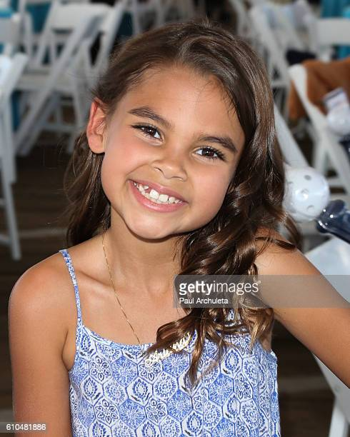 Actress Ariana Greenblatt attends the 17th Annual Mattel 'Party On The Pier' on September 25 2016 in Santa Monica California