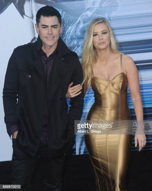 Actress Ariana Madix and guest arrive for the Premiere Of Lionsgate's 'Power Rangers' held on March 22 2017 in Westwood California