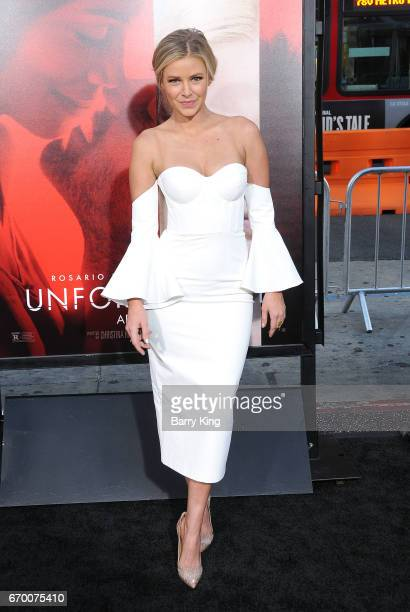 Actress Ariana Madix attends premiere of Warner Bros Pictures' 'Unforgettable' at TCL Chinese Theatre on April 18 2017 in Hollywood California