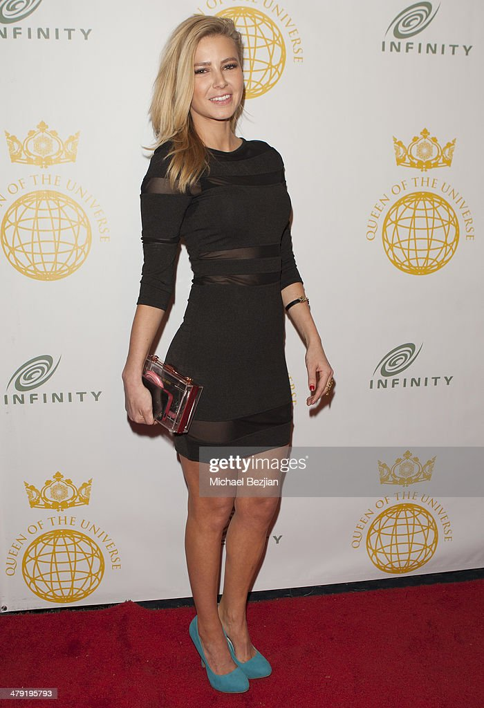 Actress Ariana Madix attends Queen Of The Universe International Beauty Pageant at Saban Theatre on March 16, 2014 in Beverly Hills, California.