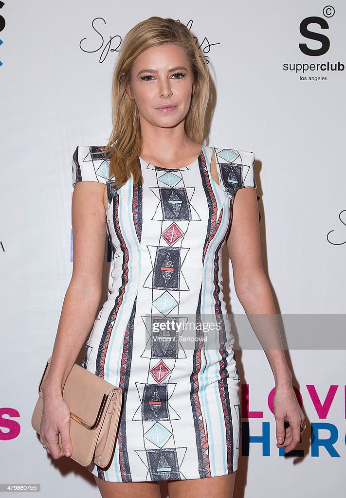 Actress Ariana Madix attends the Unlikely Heroes red carpet spring benefit at SupperClub Los Angeles on March 20, 2014 in Los Angeles, California.