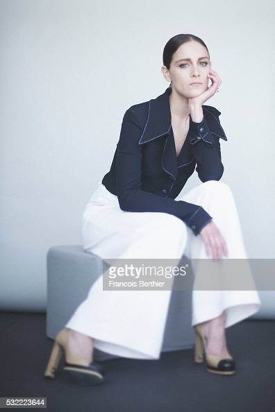 Actress Ariane Labed is photographed for Self Assignment on May 18 2016 in Cannes France
