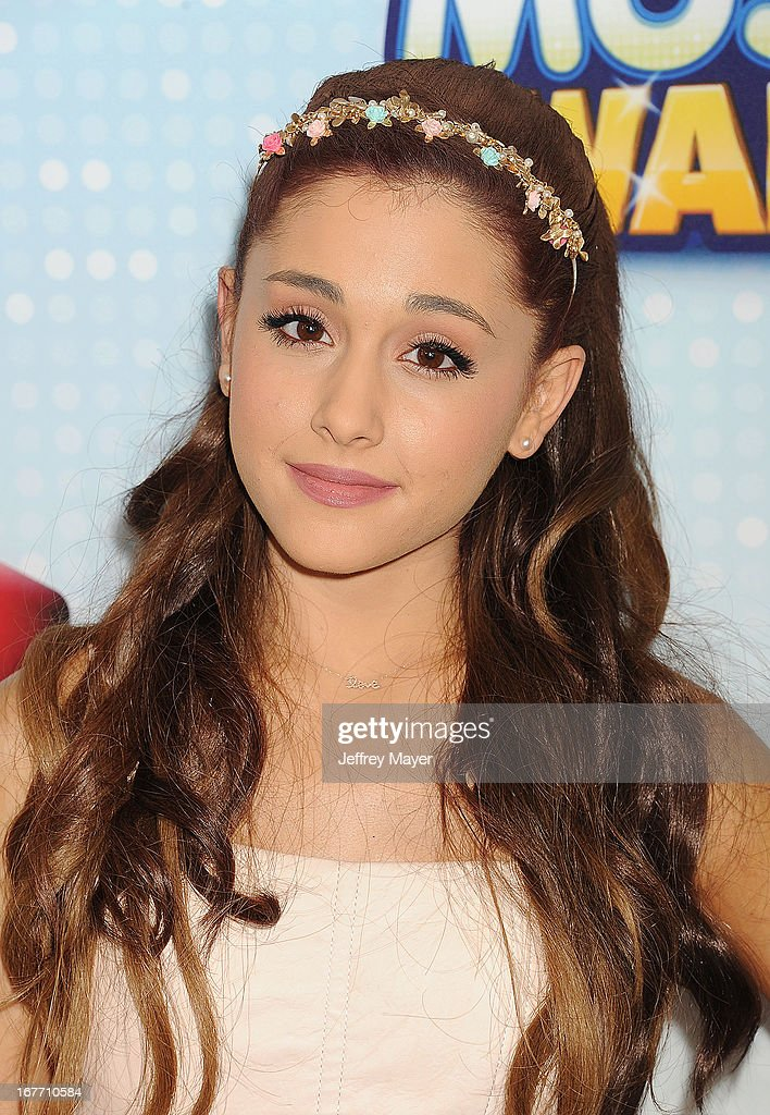 Actress Arianna Grande arrives at the 2013 Radio Disney Music Awards at Nokia Theatre L.A. Live on April 27, 2013 in Los Angeles, California.