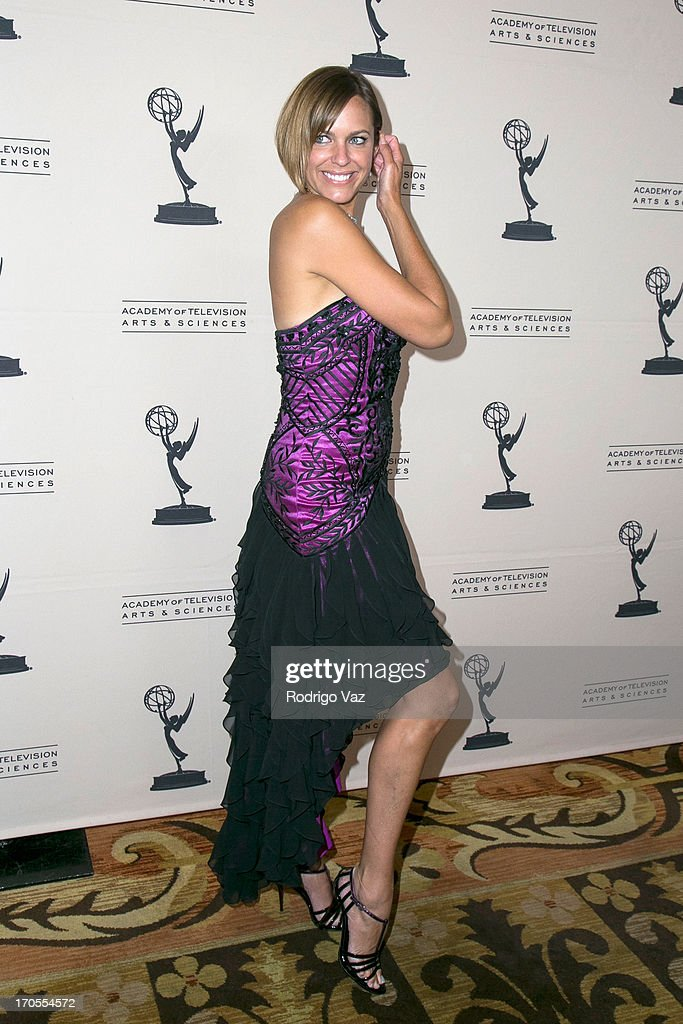 Actress Arianne Zucker arrives at the 40th Annual Daytime Emmy Nominees Cocktail Reception at Montage Beverly Hills on June 13, 2013 in Beverly Hills, California.