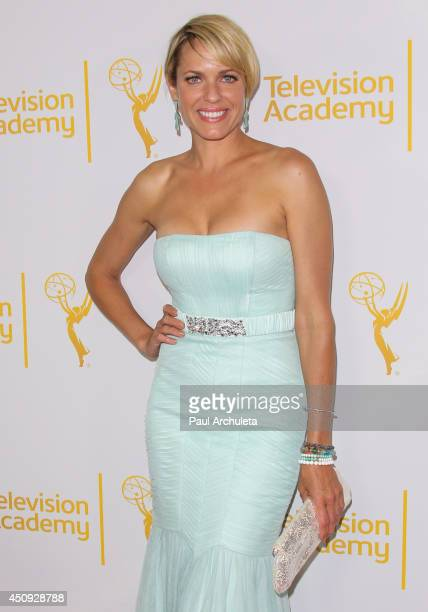 Actress Arianne Zucker attends the Daytime Emmy Nominee Reception at The London West Hollywood on June 19 2014 in West Hollywood California