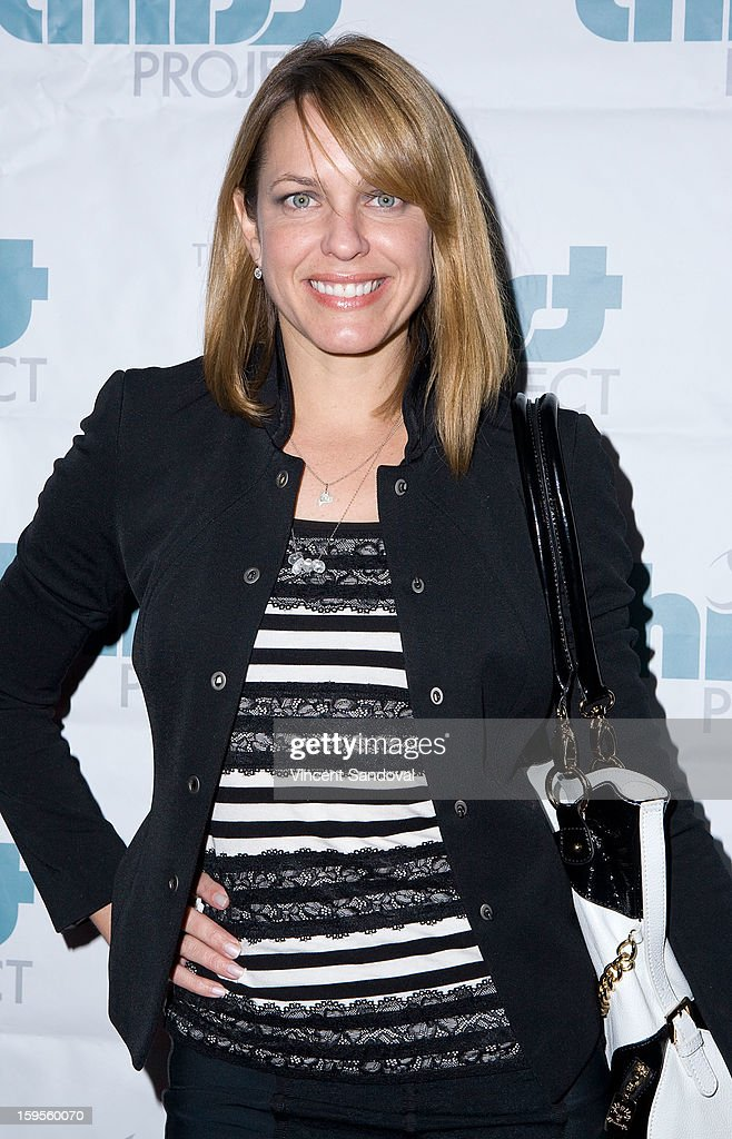 Actress Arianne Zucker attends the Thirst Project charity cocktail party at Lexington Social House on January 15, 2013 in Hollywood, California.