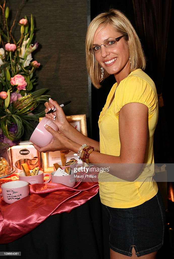 Actress Arianne Zuker poses in the Daytime Emmy official gift lounge produced by On 3 Productions held at the Kodak Theatre on June 19, 2008 in Hollywood, California.
