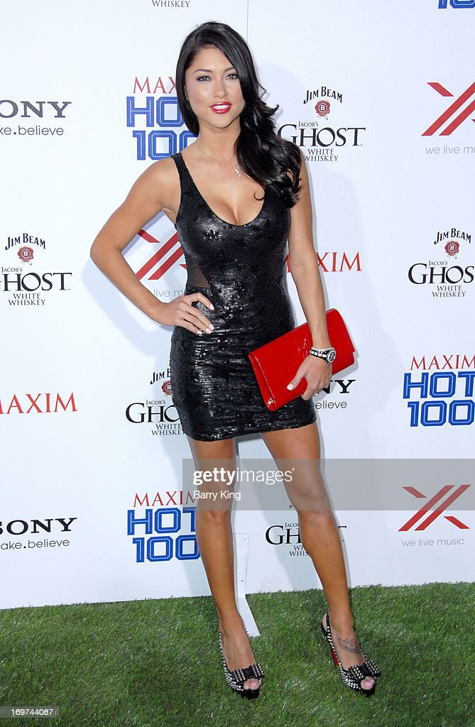 Actress <a gi-track='captionPersonalityLinkClicked' href=/galleries/search?phrase=Arianny+Celeste&family=editorial&specificpeople=4900711 ng-click='$event.stopPropagation()'>Arianny Celeste</a> arrives at the Maxim 2013 Hot 100 Party held at Create on May 15, 2013 in Hollywood, California.