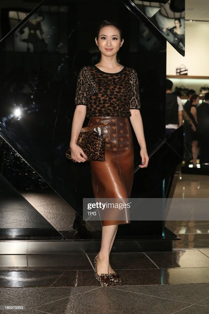 Actress Ariel Lin attends fashion show held by Burberry on Wednesday September 11,2013 in Taipei,China.
