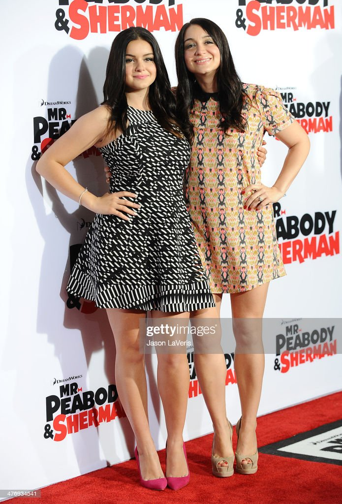 Actress <a gi-track='captionPersonalityLinkClicked' href=/galleries/search?phrase=Ariel+Winter&family=editorial&specificpeople=715954 ng-click='$event.stopPropagation()'>Ariel Winter</a> and sister Shanelle Workman attend the premiere of 'Mr. Peabody & Sherman' at Regency Village Theatre on March 5, 2014 in Westwood, California.