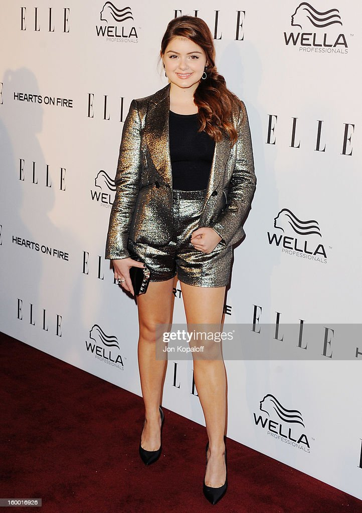 Actress Ariel Winter arrives at ELLE's 2nd Annual Women In TV Event at Soho House on January 24, 2013 in West Hollywood, California.
