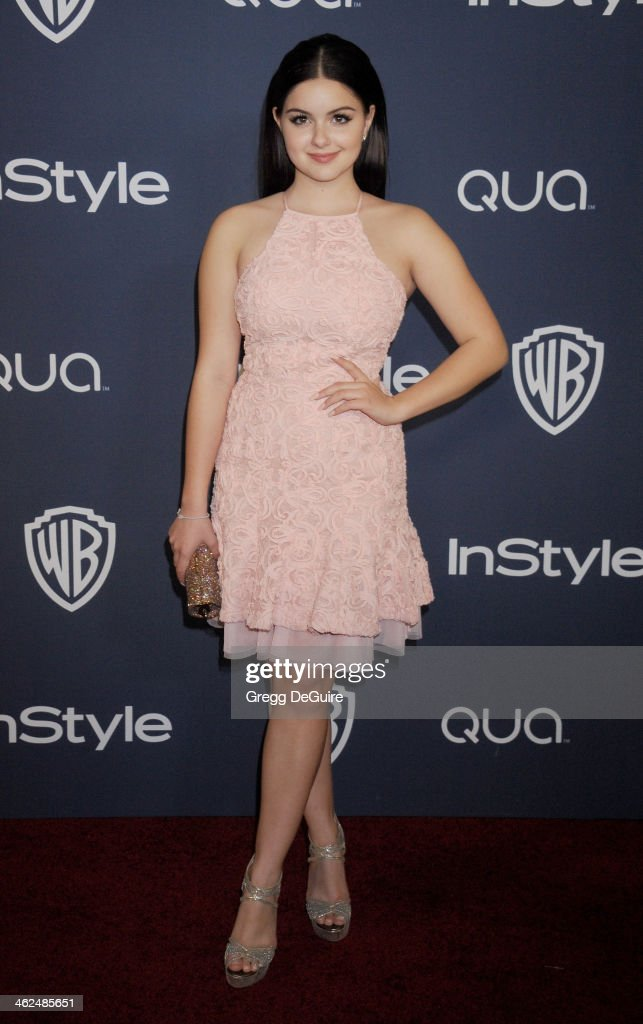 Actress Ariel Winter arrives at the 2014 InStyle And Warner Bros. 71st Annual Golden Globe Awards post-party at The Beverly Hilton Hotel on January 12, 2014 in Beverly Hills, California.