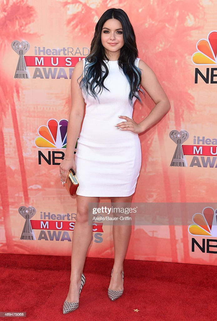 Actress Ariel Winter arrives at the 2015 iHeartRadio Music Awards at The Shrine Auditorium on March 29 2015 in Los Angeles California