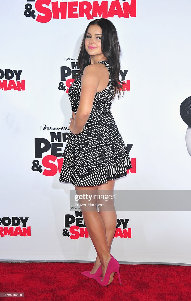 Actress Ariel Winter arrives at the Premiere of Twentieth Century Fox and DreamWorks Animation's 'Mr Peabody Sherman' at Regency Village Theatre on...