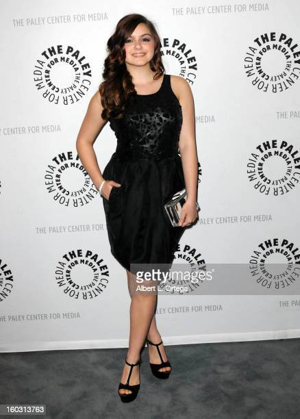 Actress Ariel Winter arrives for The Paley Center for Media Warner Bros Home Entertainment Premiere of 'Batman The Dark Knight Returns Part 2' held...