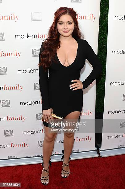 Actress Ariel Winter attends ABC's 'Modern Family' ATAS Emmy Event at Fox Studios on May 2 2016 in Los Angeles California