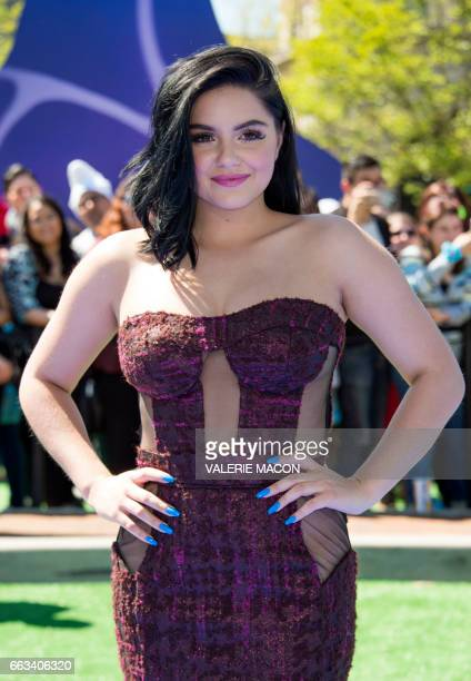 Actress Ariel Winter attends Columbia Pictures and Sony Pictures Animation World Premiere of 'Smurfs The Lost Village' at Arclight Culver City on...