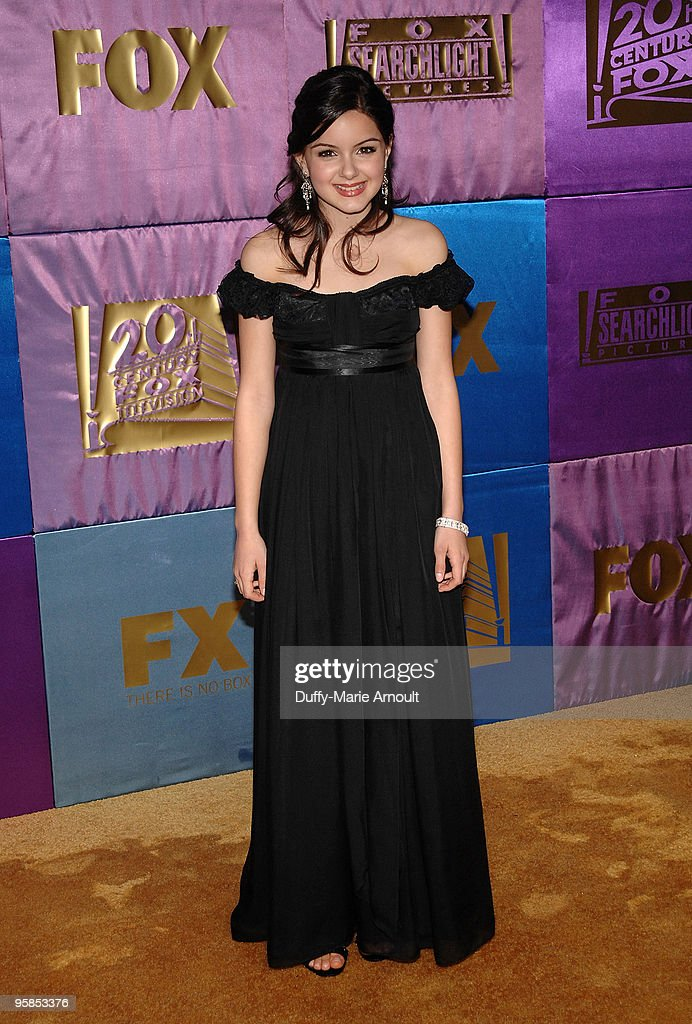 Actress Ariel Winter attends Fox's 2010 Golden Globes Awards Party at Craft on January 17 2010 in Century City California