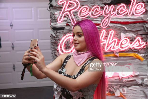 Actress Ariel Winter attends HM Loves Coachella Tent during day 1 of the Coachella Valley Music Arts Festival at the Empire Polo Club on April 14...