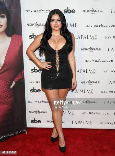 Actress Ariel Winter attends LaPalme Magazine fall cover party at Nightingale Plaza on November 8 2017 in Los Angeles California