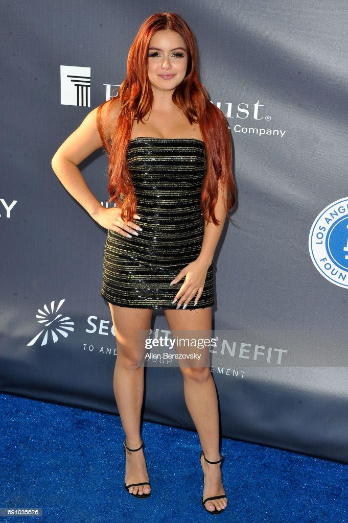Actress Ariel Winter attends Los Angeles Dodgers Foundation's 3rd Annual Blue Diamond Gala at Dodger Stadium on June 8, 2017 in Los Angeles, California.