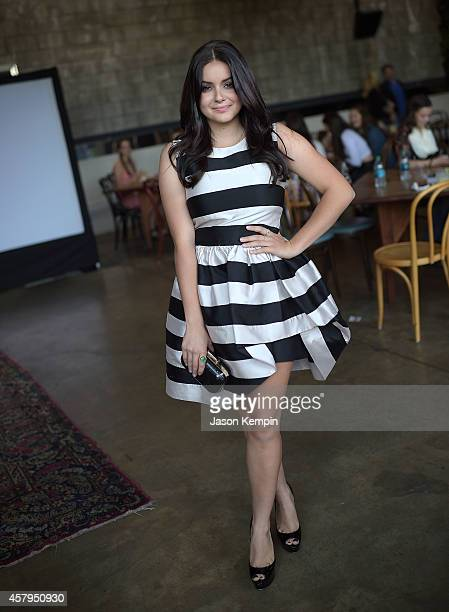 Actress Ariel Winter attends Nolan Gould's 16th birthday party held at Smogshoppe on October 26 2014 in Los Angeles California