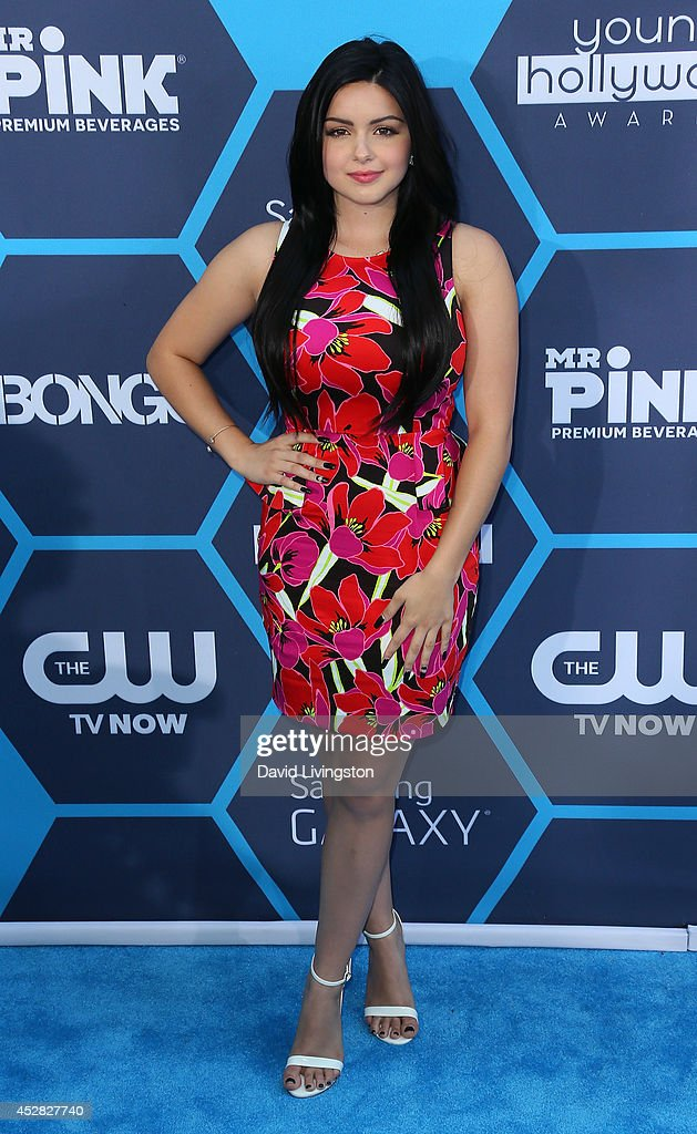 Actress <a gi-track='captionPersonalityLinkClicked' href=/galleries/search?phrase=Ariel+Winter&family=editorial&specificpeople=715954 ng-click='$event.stopPropagation()'>Ariel Winter</a> attends the 16th Annual Young Hollywood Awards at The Wiltern on July 27, 2014 in Los Angeles, California.