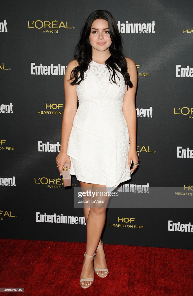 Actress <a gi-track='captionPersonalityLinkClicked' href=/galleries/search?phrase=Ariel+Winter&family=editorial&specificpeople=715954 ng-click='$event.stopPropagation()'>Ariel Winter</a> attends the 2014 Entertainment Weekly pre-Emmy party at Fig & Olive Melrose Place on August 23, 2014 in West Hollywood, California.