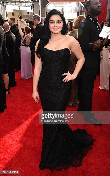 Actress Ariel Winter attends The 22nd Annual Screen Actors Guild Awards at The Shrine Auditorium on January 30 2016 in Los Angeles California...