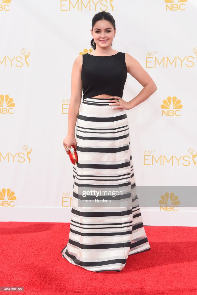 Actress Ariel Winter attends the 66th Annual Primetime Emmy Awards held at Nokia Theatre LA Live on August 25 2014 in Los Angeles California