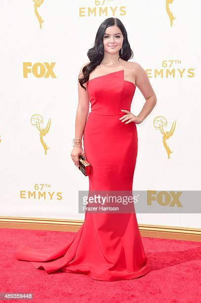 Actress Ariel Winter attends the 67th Annual Primetime Emmy Awards at Microsoft Theater on September 20 2015 in Los Angeles California