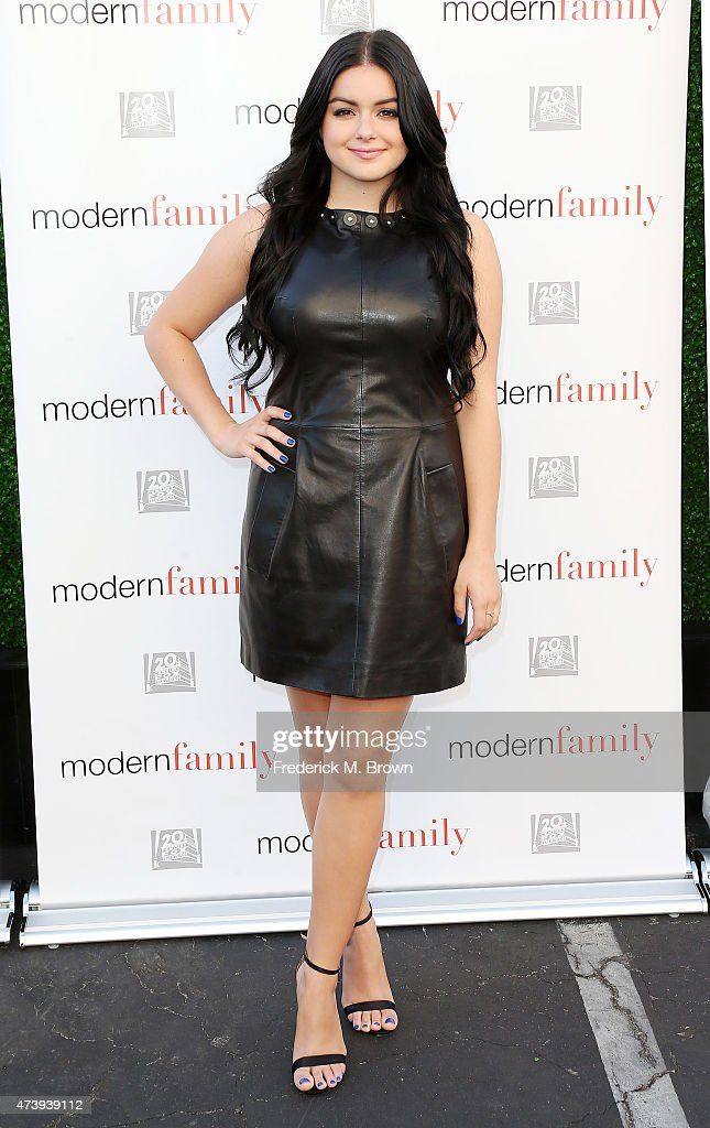 Actress Ariel Winter attends the ATAS Screening of the 'Modern Family' Season Finale 'American Skyper' at the Fox Studio Lot on May 18 2015 in...