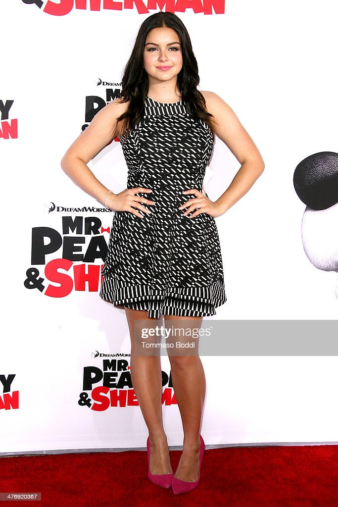 Actress <a gi-track='captionPersonalityLinkClicked' href=/galleries/search?phrase=Ariel+Winter&family=editorial&specificpeople=715954 ng-click='$event.stopPropagation()'>Ariel Winter</a> attends the 'Mr. Peabody & Sherman' Los Angeles premiere held at the Regency Village Theatre on March 5, 2014 in Westwood, California.